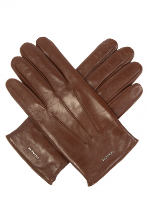 Leather gloves od Coach