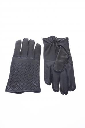 Leather gloves od Bottega Veneta