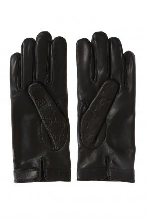 9a9280f7ce4  gg original  pattern gloves od Gucci   ...