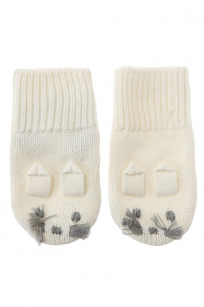 Mouse motif gloves od Stella McCartney Kids