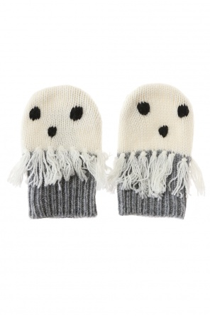 Ghost motif gloves od Stella McCartney Kids