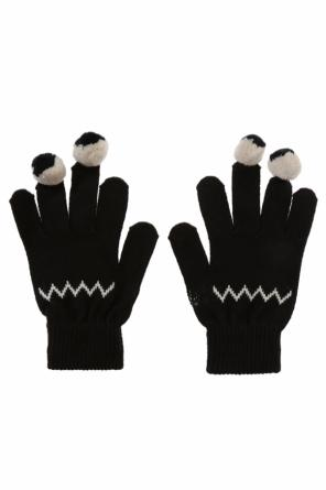 Pompom gloves od Stella McCartney Kids