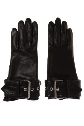 Leather gloves od Balenciaga