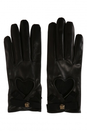 Leather gloves od Gucci