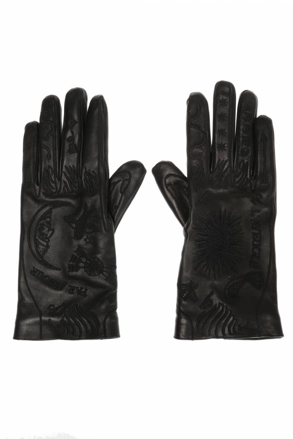 d0158602ca8 Leather gloves Gucci - Vitkac shop online