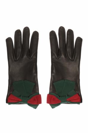 'web' gloves od Gucci