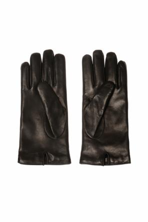 Logo-appliquéd gloves od Gucci