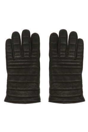 Quilted gloves od Canada Goose