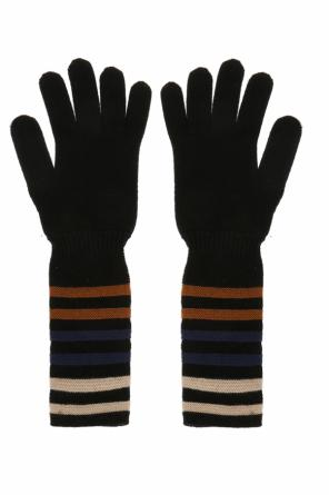 Long gloves with a striped pattern od Sonia Rykiel