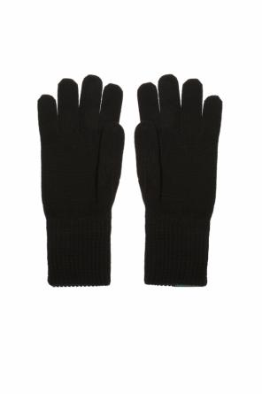 Branded gloves od Moschino