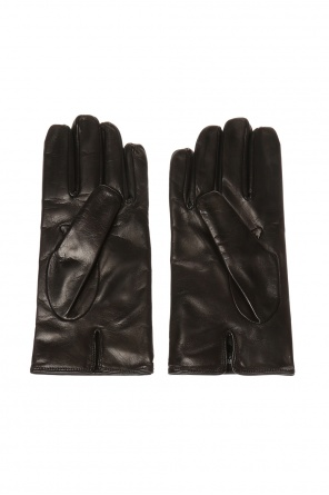 Leather gloves od Emporio Armani