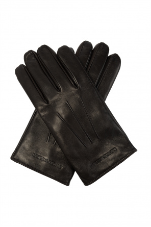 Leather gloves od Emporio Armani