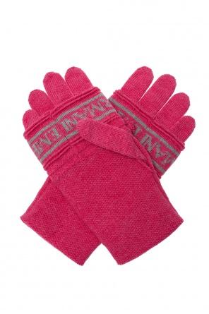Logo gloves od Emporio Armani