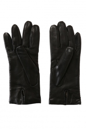 Leather gloves od Moschino