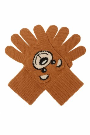 Knitted gloves od Moschino