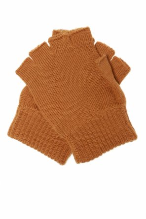 Logo gloves od Moschino Kids