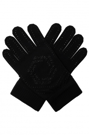 Gloves with logo od Givenchy