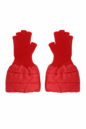 Down-trim gloves od Moncler