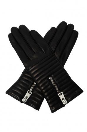 'estela' leather gloves od AllSaints