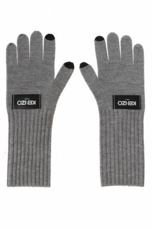 Patched gloves od Kenzo