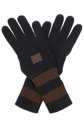 Gloves with logo od Acne Studios