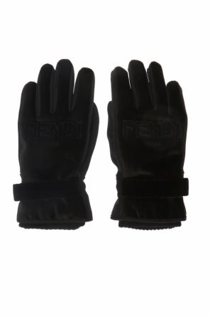 Gloves with logo od Fendi