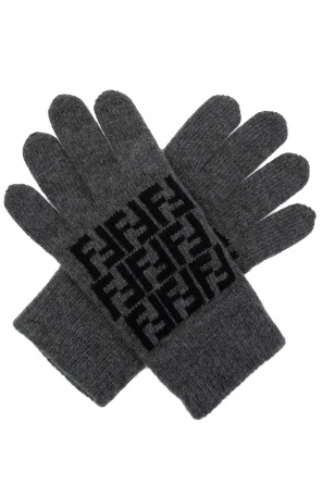 Knitted gloves od Fendi