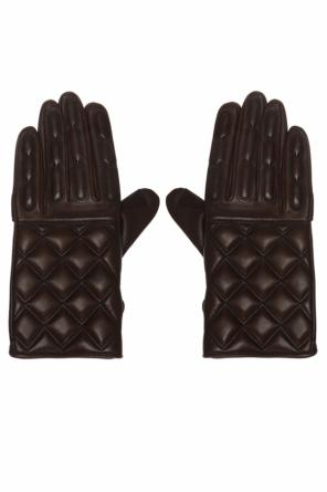 Quilted gloves od Berluti