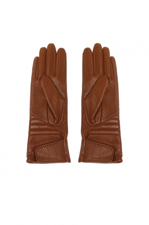 Perforated leather gloves od Isabel Marant