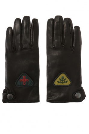 Leather gloves od Diesel