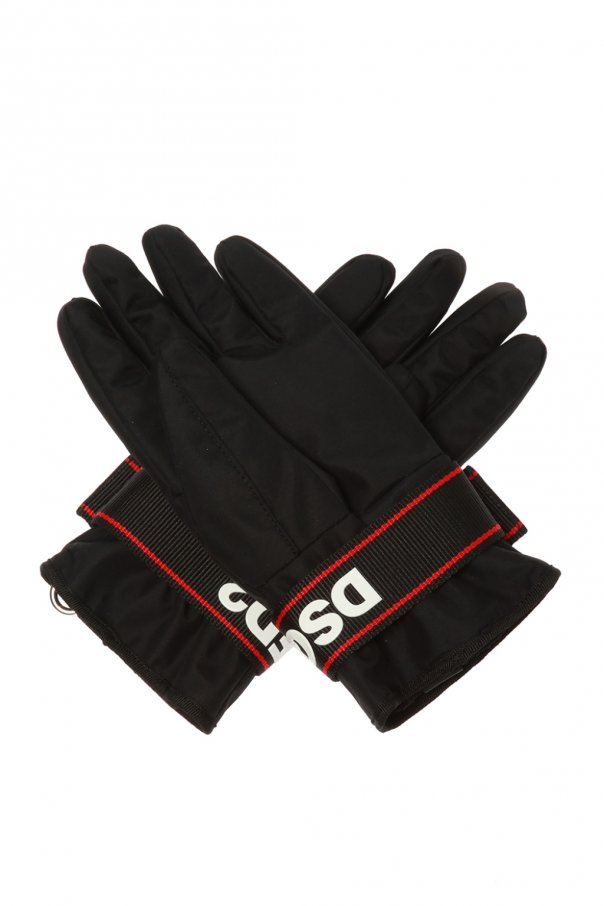Branded ski gloves od Dsquared2