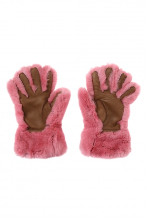 Fur gloves od Marni