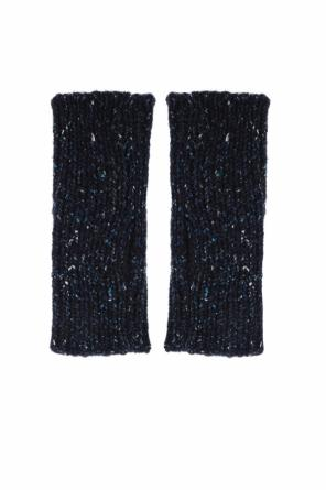 Fingerless woven gloves od Marni
