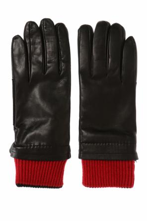 Leather gloves od Ami Alexandre Mattiussi