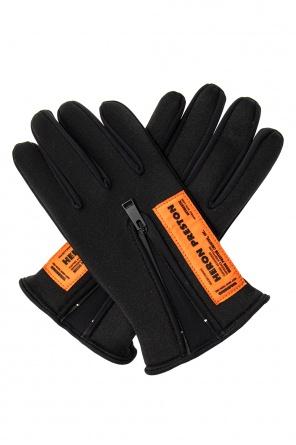 Rękawice z logo od Heron Preston