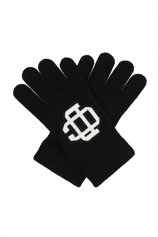 Dsquared2 Patched gloves