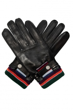 Leather gloves od Paul Smith