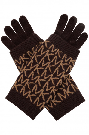 Gloves with logo od Michael Michael Kors