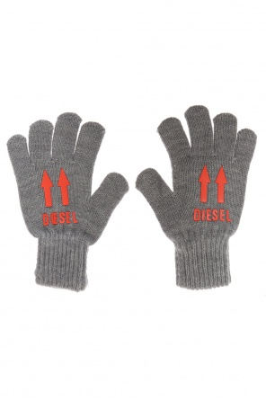 Rubber-printed gloves od Diesel