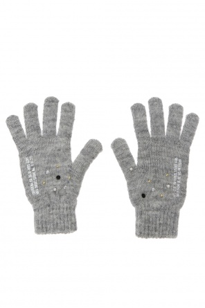 Studded gloves od Diesel