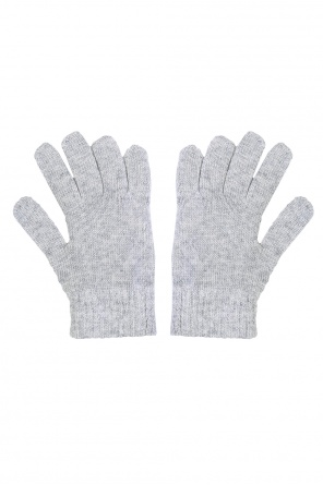 Logo-printed gloves od Diesel