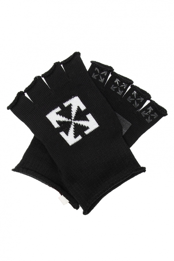 Off-White Logo gloves