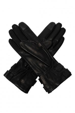 'oren' leather gloves od AllSaints