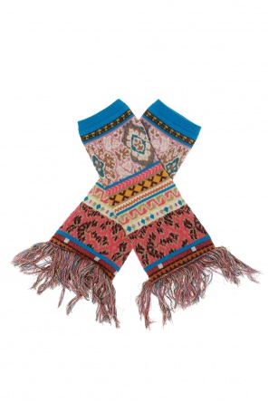 Patterned gloves od Etro