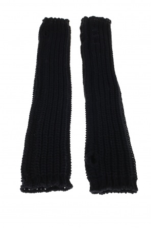 Long fingerless gloves od Rick Owens