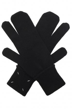 Gloves with logo od Maison Margiela