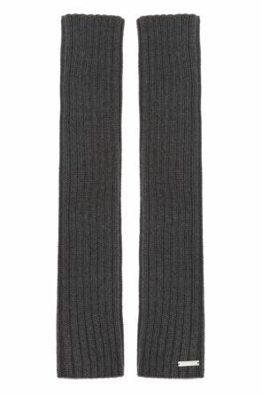 Fingerless wool gloves od Dsquared2