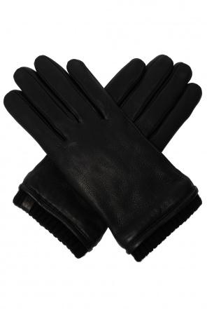 'vester' leather gloves od AllSaints