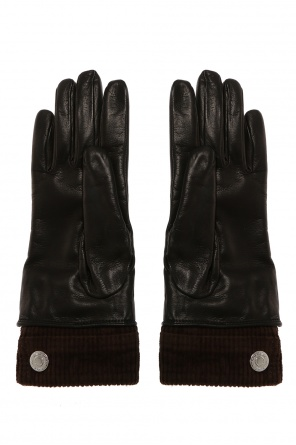 Leather gloves od Dsquared2