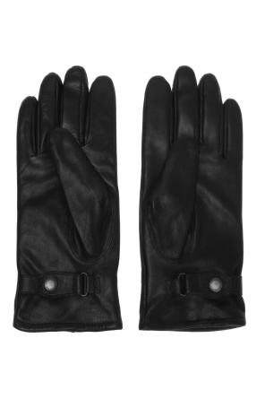 Leather gloves od AllSaints